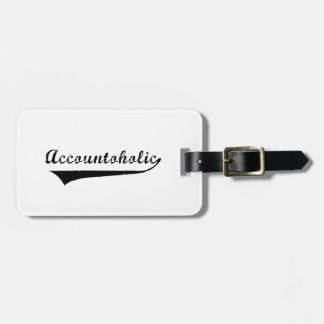 Etiqueta De Bagagem Accountoholic