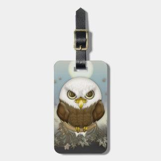 Etiqueta De Bagagem Águia americana bonito