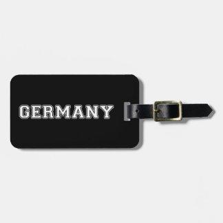 Etiqueta De Bagagem Alemanha