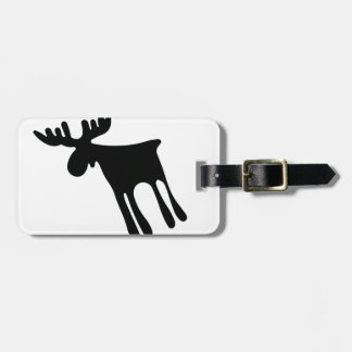 Etiqueta De Bagagem Älg / Moose