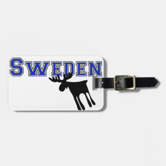 Etiqueta De Bagagem Älg / Moose, Sweden