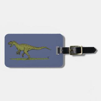 Etiqueta De Bagagem Allosaurus