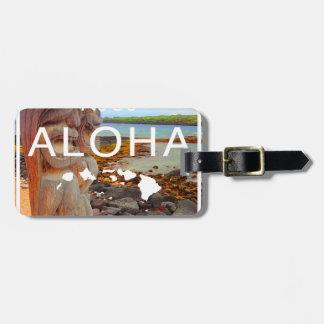 Etiqueta De Bagagem Aloha nenhuns 50 Tiki