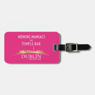 Etiqueta De Bagagem Alta tensão/rosa 2018 do Tag bagagem de Dublin 2