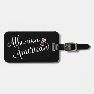 Etiqueta De Bagagem Americano albanês Tag entrelaçado da bagagem dos