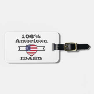 Etiqueta De Bagagem Americano de 100%, Idaho