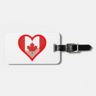 Etiqueta De Bagagem Amor de Canadá