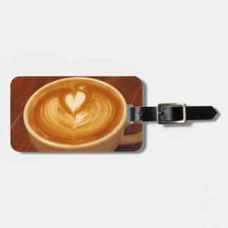 Etiqueta De Bagagem Amor do café