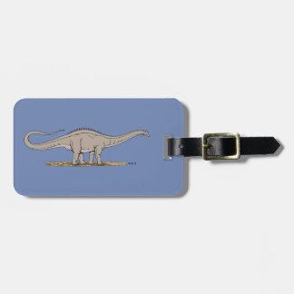 Etiqueta De Bagagem Apatosaurus