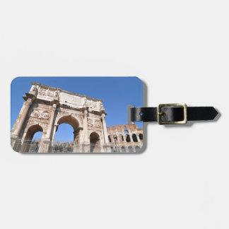 Etiqueta De Bagagem Arco em Roma, Italia