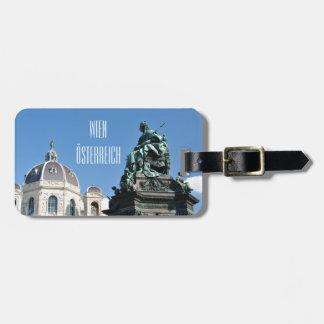 Etiqueta De Bagagem Arquitetura em Viena, Áustria