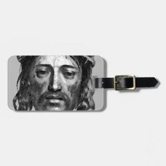 Etiqueta De Bagagem Arte do cristão das messias do Th do Jesus Cristo