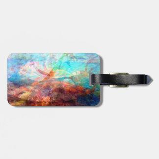 Etiqueta De Bagagem Arte subaquática de inspiração bonita da cena
