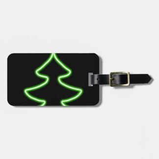 Etiqueta De Bagagem Árvore de Natal de Digitas