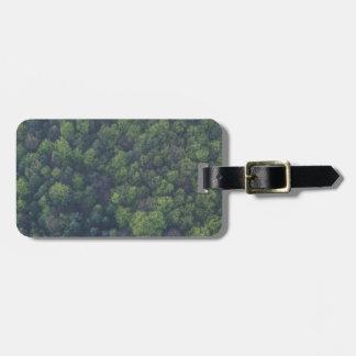 Etiqueta De Bagagem Árvores verdes