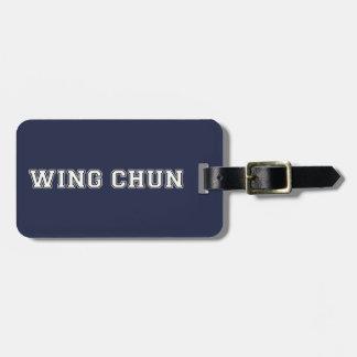 Etiqueta De Bagagem Asa Chun