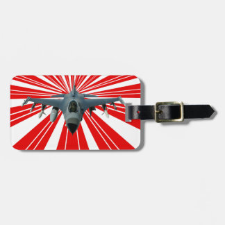 Etiqueta De Bagagem Avião de combate