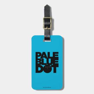 Etiqueta De Bagagem Azul pálido