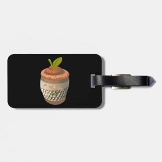 Etiqueta De Bagagem Baga do dedal da comida do pulso aleatório