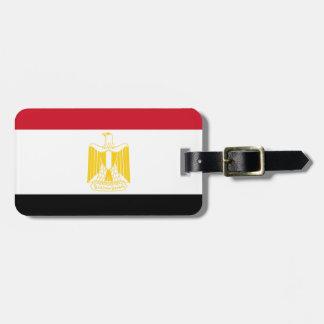 Etiqueta De Bagagem Baixo custo! Bandeira de Egipto