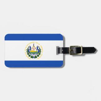 Etiqueta De Bagagem Baixo custo! Bandeira de El Salvador