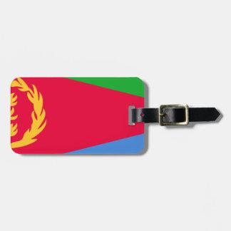 Etiqueta De Bagagem Baixo custo! Bandeira de Eritrea