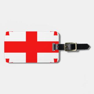Etiqueta De Bagagem Baixo custo! Bandeira de Geórgia