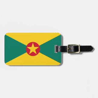 Etiqueta De Bagagem Baixo custo! Bandeira de Grenada