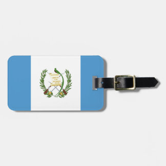Etiqueta De Bagagem Baixo custo! Bandeira de Guatemala