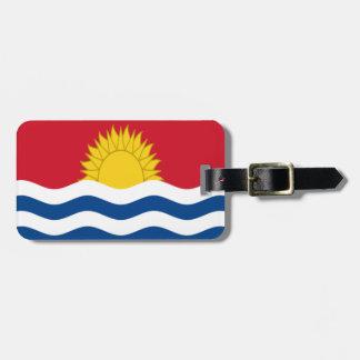 Etiqueta De Bagagem Baixo custo! Bandeira de Kiribati