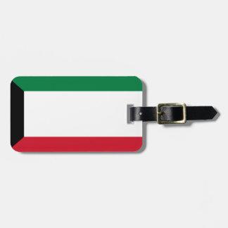 Etiqueta De Bagagem Baixo custo! Bandeira de Kuwait