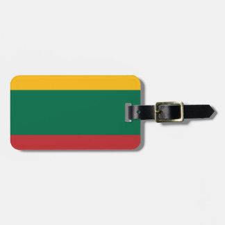 Etiqueta De Bagagem Baixo custo! Bandeira de Lithuania