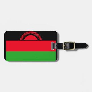 Etiqueta De Bagagem Baixo custo! Bandeira de Malawi