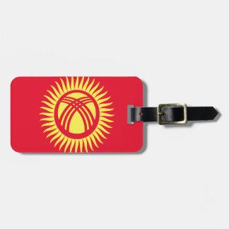 Etiqueta De Bagagem Baixo custo! Quirguistão embandeira