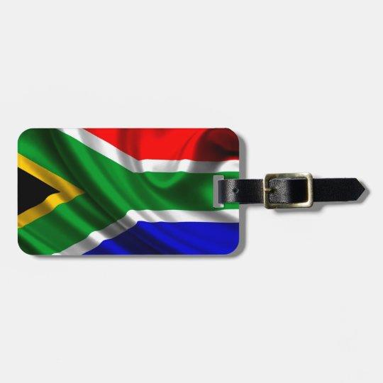 Etiqueta De Bagagem Bandeira África