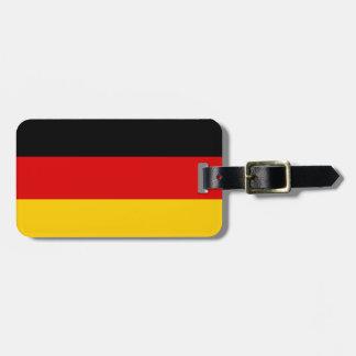 Etiqueta De Bagagem Bandeira alemão patriótica