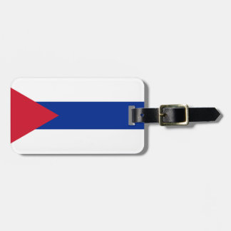 Etiqueta De Bagagem Bandeira cubana - bandera Cubana - bandeira de