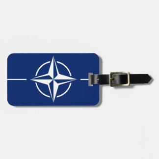 Etiqueta De Bagagem Bandeira da OTAN