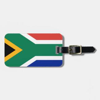 Etiqueta De Bagagem Bandeira de África do Sul - Vlag camionete