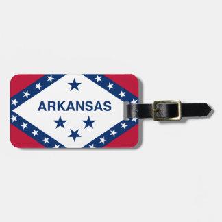 Etiqueta De Bagagem Bandeira de Arkansas