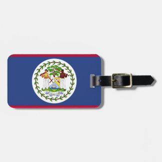 Etiqueta De Bagagem Bandeira de Belize