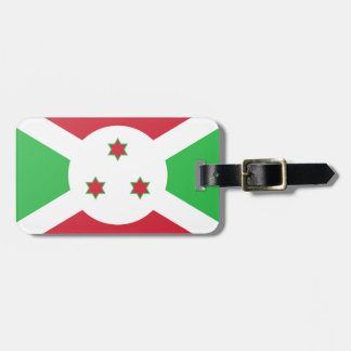 Etiqueta De Bagagem Bandeira de Burundi