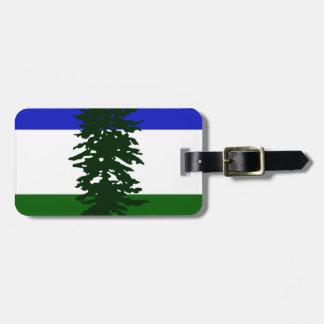 Etiqueta De Bagagem Bandeira de Cascadia