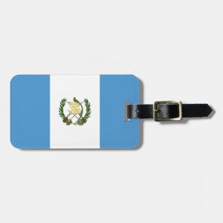 Etiqueta De Bagagem Bandeira de Guatemala