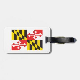 Etiqueta De Bagagem Bandeira de Maryland
