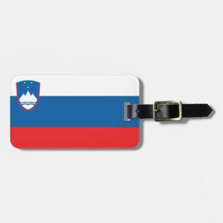 Etiqueta De Bagagem Bandeira de Slovenia