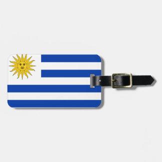 Etiqueta De Bagagem Bandeira de Uruguai