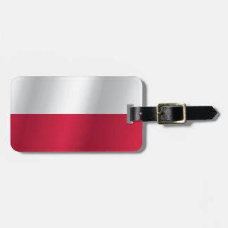 Etiqueta De Bagagem Bandeira do Polônia