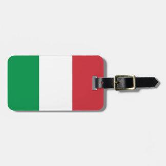 Etiqueta De Bagagem Bandeira nacional do mundo de Italia
