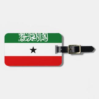 Etiqueta De Bagagem Bandeira nacional do mundo de Somaliland